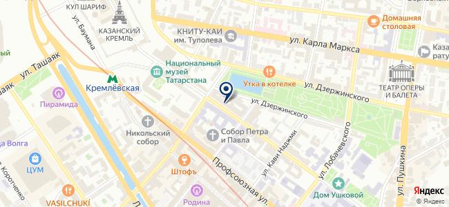 Мирас, ООО на карте