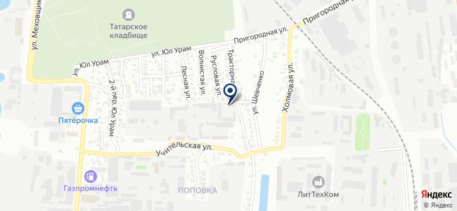Республиканский автовокзал 07, ООО на карте