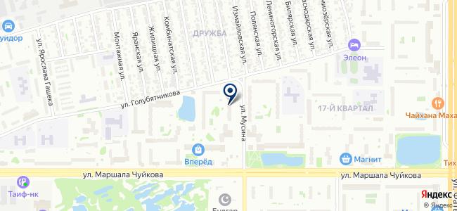 Казанская служба ремонта на карте