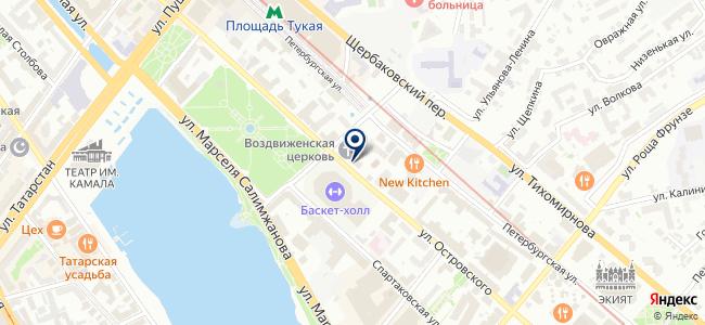 Вика Мера, ЗАО на карте