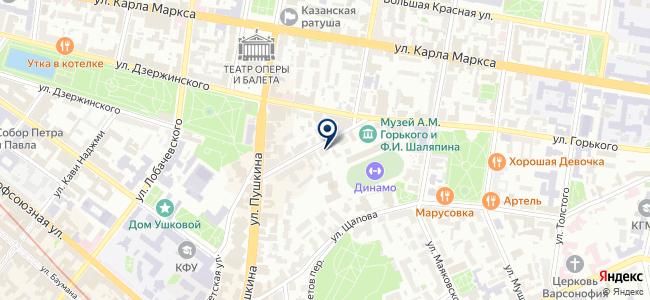 ПромРесурс, ООО на карте