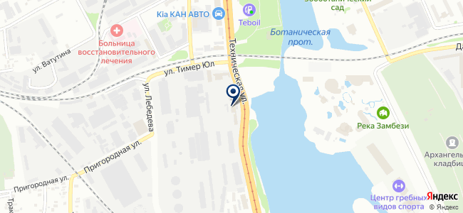 Инвэнт, ООО на карте