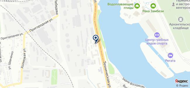 Сварка, ООО на карте