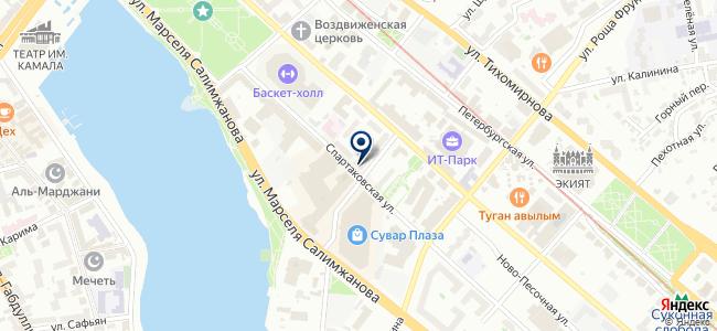 Афон, ООО на карте