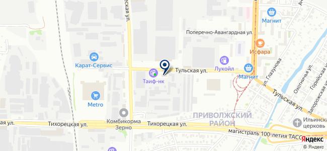 Монтаж Газ-Сервис, ООО на карте