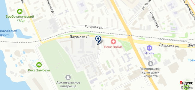 Корал-Снаб на карте