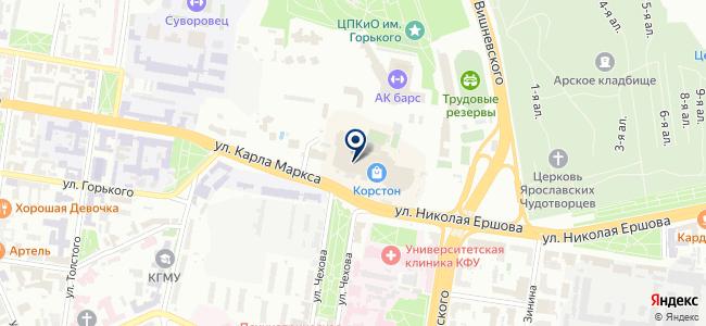 СвердловЭлектро на карте