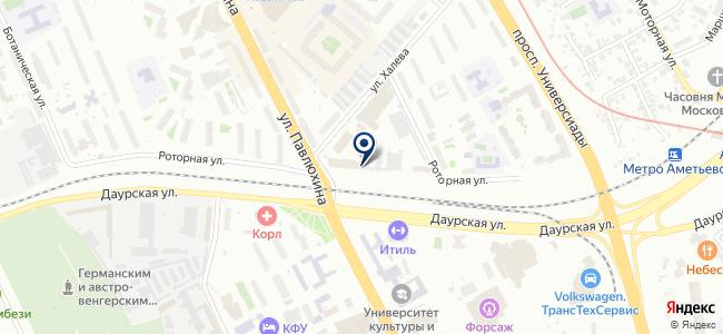 КПАТП №1 на карте