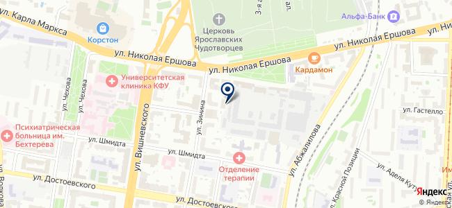 Поволжский удостоверяющий центр, ЗАО на карте