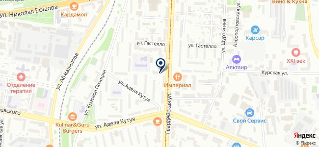 Лэд Лайн на карте