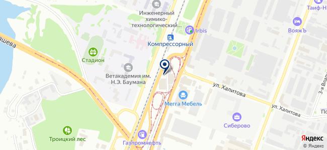 Магазин крепежа и инструментов на карте