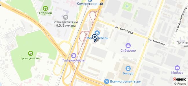 Сфера Электро, ООО на карте