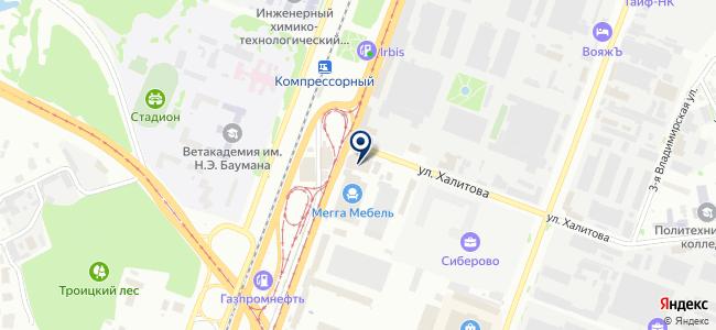 Магазин электротоваров на Сибирском тракте, 34д на карте