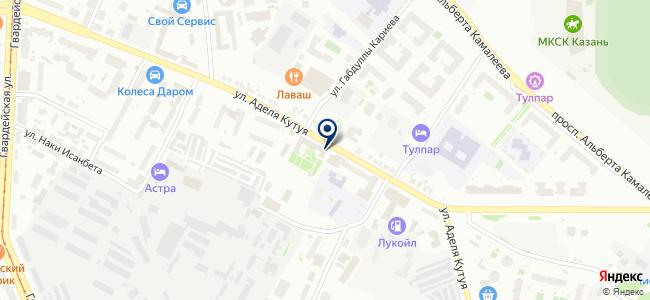 Аура Света на карте