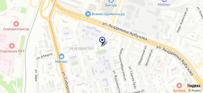 Электротехническая лаборатория, Управление по обеспечению рационального использования и качества топливно-энергетических ресурсов в Республике Татарстан, ГБУ на карте