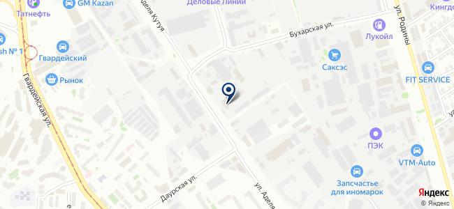Юкон на карте