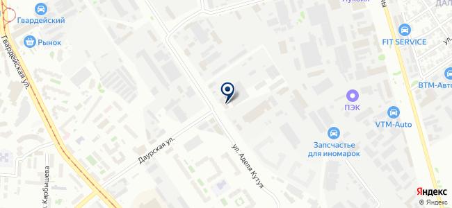 Крепость-Поволжье, ООО на карте