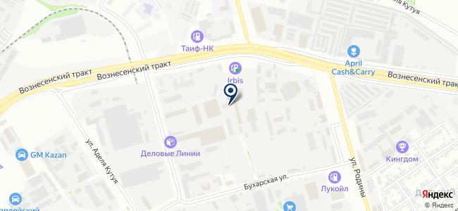Тозелеш, ООО на карте