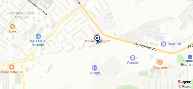 Президент-Нева, ООО на карте
