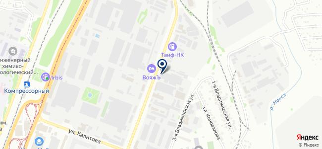 ССМ на карте