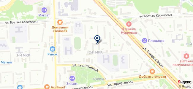 Бостон на карте