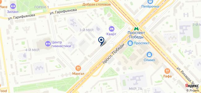 ТЕКО, ЗАО на карте