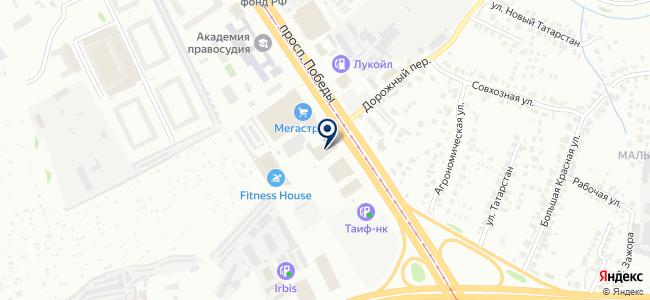 Обои City на карте