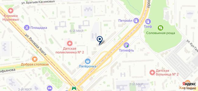 ГеоНавигация, ООО на карте