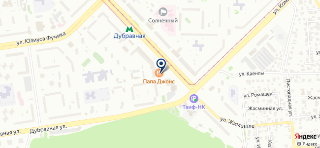 Арт-бланш, ООО на карте