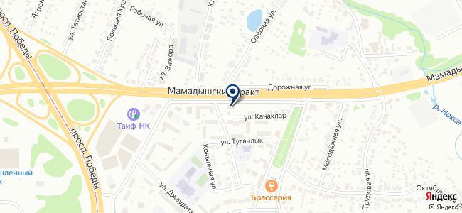 Сапфир, ООО на карте