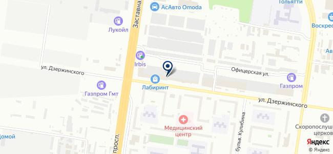 Полис, ООО на карте