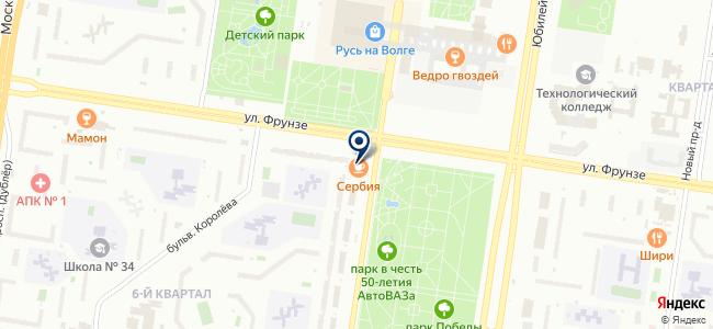 Ломбарджио на карте
