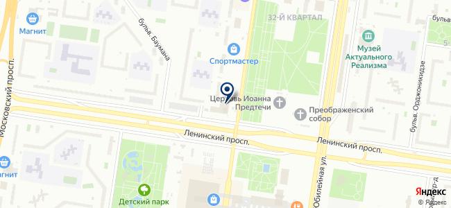 Микрон на карте