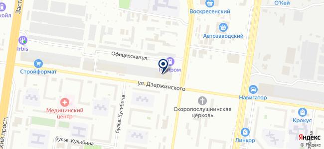 СКК на карте