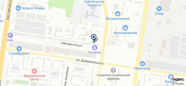 Сервис Гут на карте