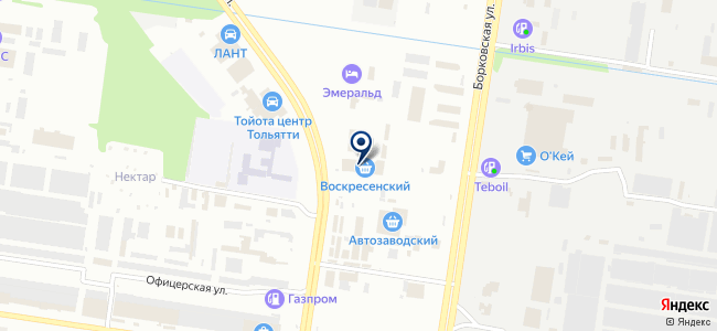 Торгмаркет-Тольятти на карте