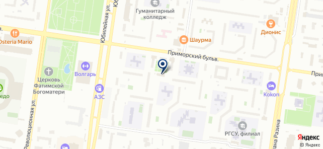 Пролог Плюс, ЗАО на карте