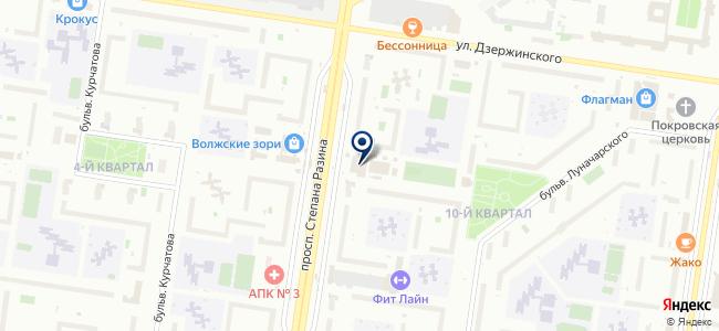 Магазин хозтоваров и электротоваров на карте