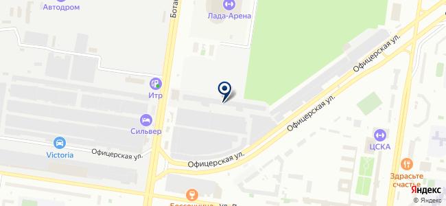 Чип-Тюнинг в Тольятти на карте