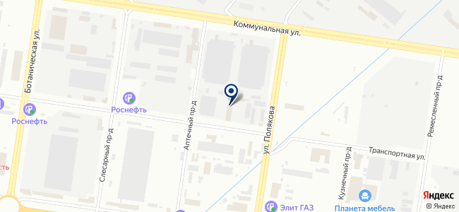 Аметист, ООО на карте