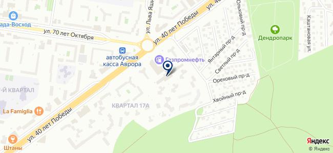 Ланстрой на карте
