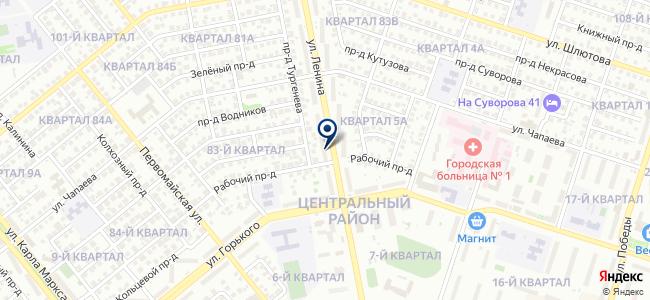Русич, ООО на карте