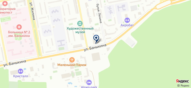 ВОЛГАСВЕТОСЕРВИС, ЗАО на карте