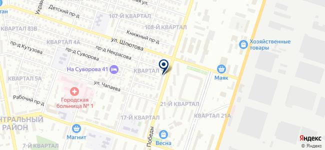Торгово-промышленная палата г. Тольятти на карте