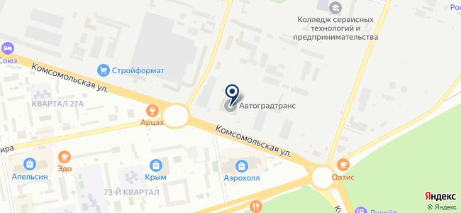 Форсаж, ООО на карте
