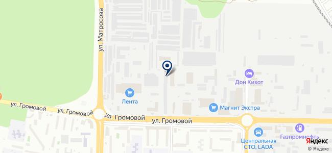 Фарадей, ООО на карте