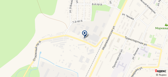 ЖАТП, Жигулёвское автотранспортное предприятие на карте