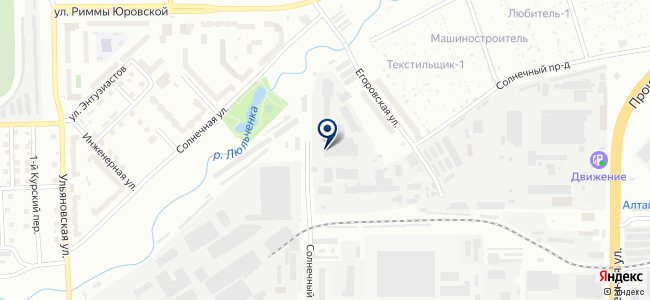 Коммунэнерго, ОАО на карте