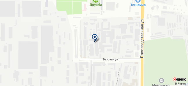Гидродинамика, ООО на карте