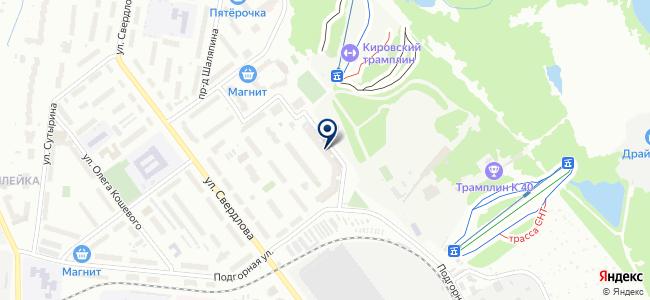 Вятка-Венсар на карте